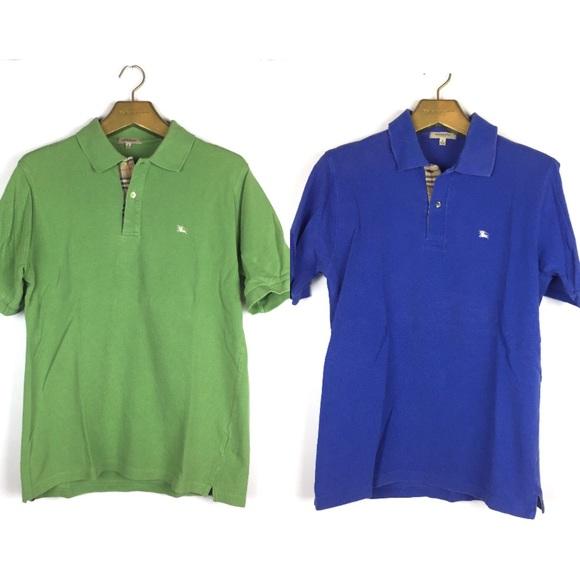 Burberry Shirts   Short Sleeve Polo Shirt Lot Sz Small   Poshmark c97335d7b0d0